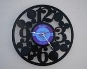 vinyl record clock (artist is Songs of Hawaii)