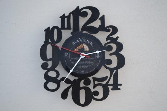 Vinyl Record Album Wall Clock (artist is Walter Schumann)