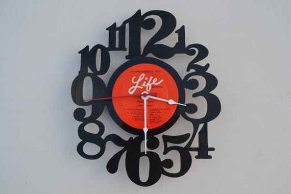 Vinyl Record Album Wall Clock (artist is Arthur Lyman)