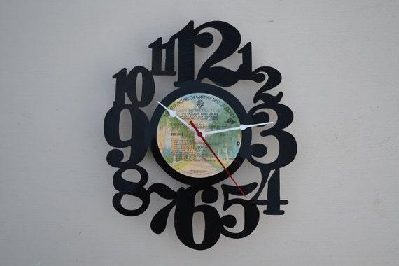 Vinyl Record Album Wall Clock (artist is The Doobie Brothers)