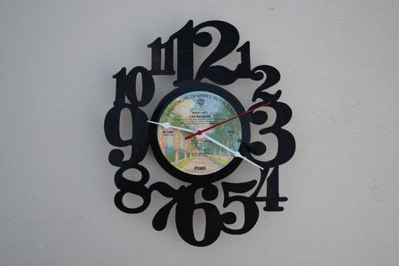 Vinyl Record Album Wall Clock (artist is Van Morrison)