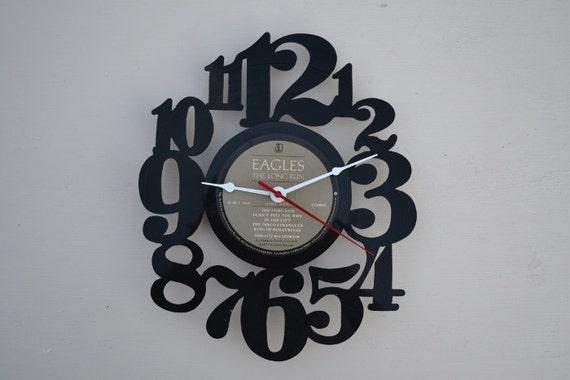 Vinyl Record Album Wall Clock (artist is The Eagles)