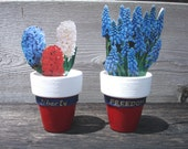 "1.5"" Mini Planters - Liberty and Freedom"