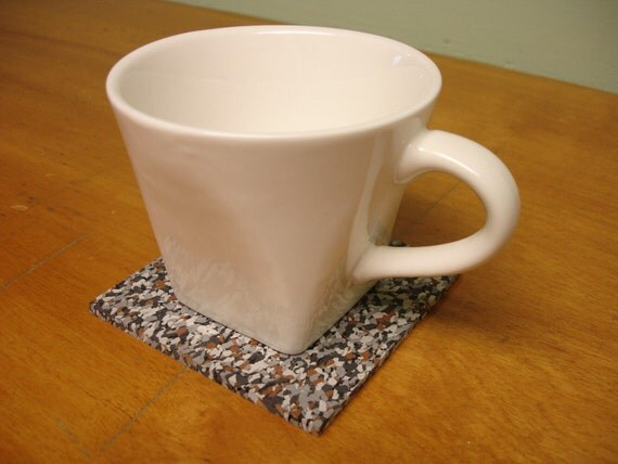 upcycled rubber coasters - Brownstone (6)