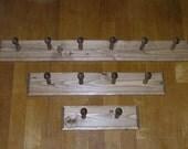 Coat Rack Wall Mounted Shaker Peg  Rail