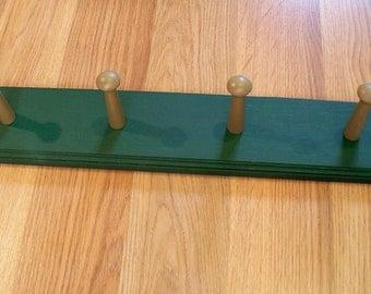 Coat Rack Shaker Peg  Rail Shaker Bar 4 Shaker Pegs