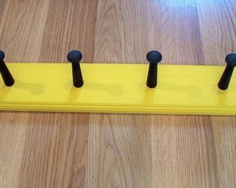 Coat Rack Shaker Peg  Rail Shaker Bar 4 Shaker Peg Hanger