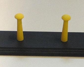 Coat Rack Shaker Peg  Rail Shaker Bar 6 Shaker Pegs