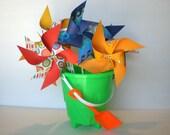 "14 ""Beach Party"" Pinwheels Medium Pinwheels custom for Olivia"