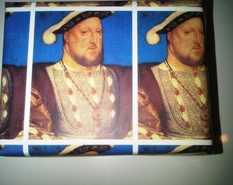 Henry VIII Wrapping Paper/Gift Wrap