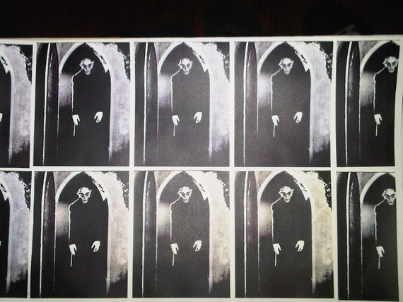Nosferatu Wrapping Paper/Giftwrap