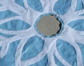 Snowflake Tree Skirt- Custom Colors Available