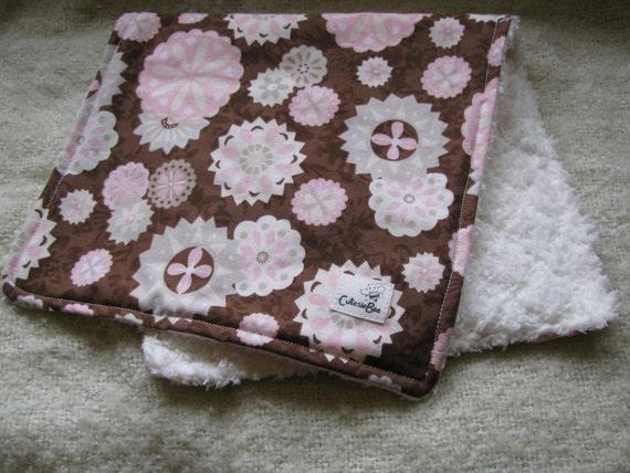 Pink & Ivory Blossom Burpies (2) SALE