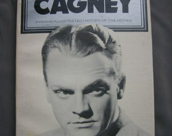 Vintage JAMES CAGNEY book - 'James Cagney' Pyramid Illustrated History of the Movies'