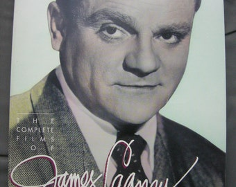 Vintage JAMES CAGNEY book - 'The Complete Films of James Cagney'