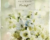 Vintage Etsy Banner -  Floral Bouquet Etsy Shop Set