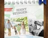 Facebook Page Design Set - Timeline Cover, Fan Gate, Profile Image, App Button - Polaroid Photo