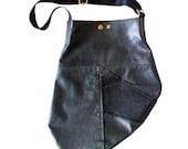 Upcycled Handmade Leather Bag.