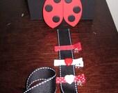 lady bug clip holder