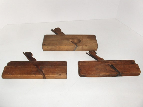 Vintage Wood Planes - 3 Planes