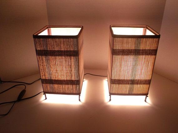 Retro Modern Table Lamps - New Unused