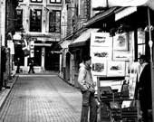 Rue des Artistes in Old Montréal . Fine Art Photograph Print / 8x10