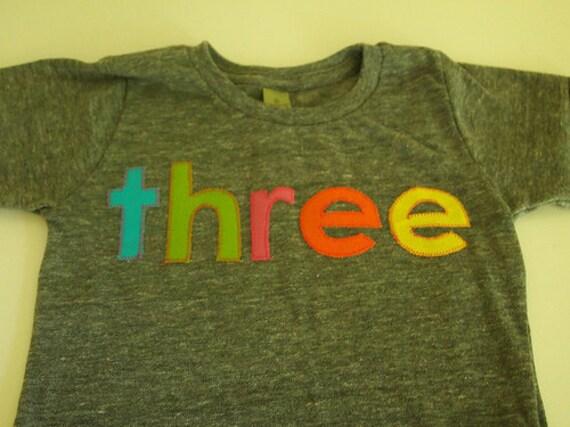 Rainbow Birthday Tee Organic Blend Colorful Birthday Shirt first birthday etc customize with preferred colors
