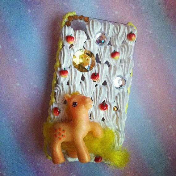 Applejack My Little Pony iPhone 4 Whipped Cream Case