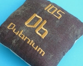 Dubnium Elements Pillow