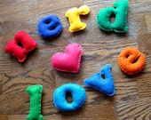 Nerd Love: Handmade Felt Valentine's Day Magnets for the one you love