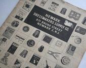 Vintage Newark Dressmakers Supply catalog, probably 1960s