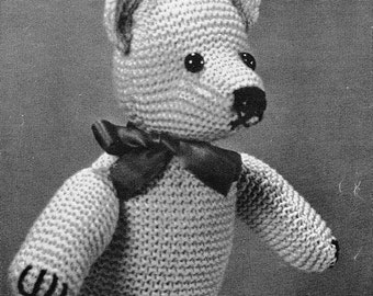 MR. BEAN BEAR CROCHET PATTERN | Free Crochet Patterns