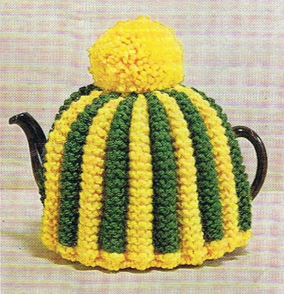 Vintage Tea Cosy Knitting Patterns Free : S retro tea cosy pattern knitting patterns cozy