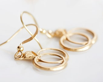 Wedding Rings Earrings - E060