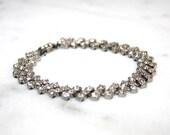 CHRISTMAS SALE 25% OFF Vintage shiny bracelet