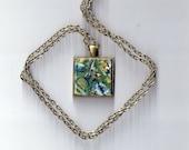 Zips - Wearable Original Art, Necklace