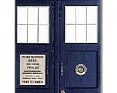 Tardis iPhone 4 Case