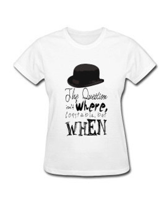 Inspector Spacetime Quote Women's T-shirt (any size)