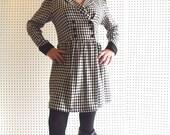 houndstooth coat dress