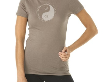 Find Peace in Freedom Inspirational Peace Symbol T-Shirt