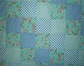 CLOSEOUT Bugs Bunny Patchwork  Quilt