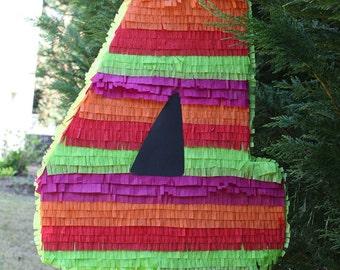 Large Number Four Pinata.  Custom Number Pinata.  Numero Cuatro.