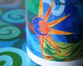 Original Art Image Mugs - The Circle of Life with Celestial Theme