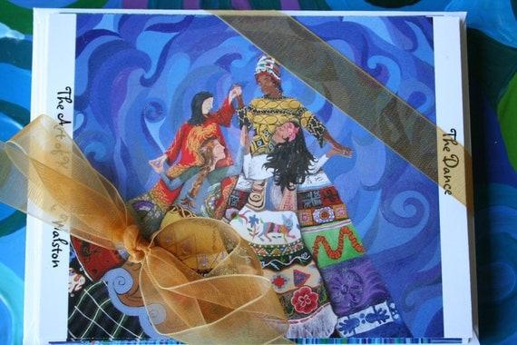 Original Paintings Postcard Set - Set of 10 Original Art Prints with Envelopes