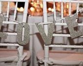 BRIDE GROOM WEDDING Pennant Banner Chair Banner Black Tie Custom Mr Mrs Sweets Love