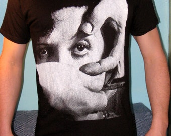 "Salvador Dali/ Louis Bunuel ""Un Chien Andalou"" T-Shirt sizes S-M-L-XL"