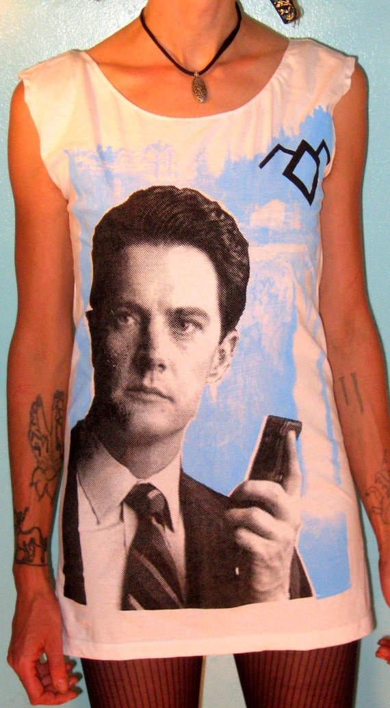 TWIN PEAKS: Special Agent Dale Cooper Womens Scoop Neck Dress sizes S-M-L