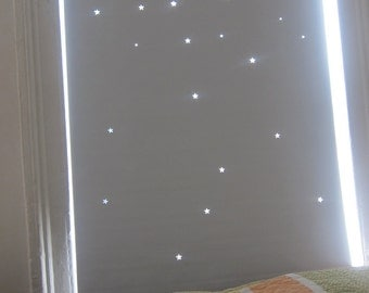 """Special TWO roller blinds (Vinyl) : 35"""" width and 48"""" height for both"""