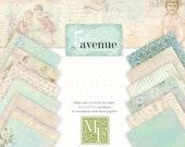 Melissa Frances 5th Avenue paper collection