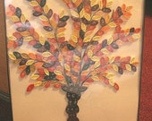 Paper Quilled Fall Tree Wall Art